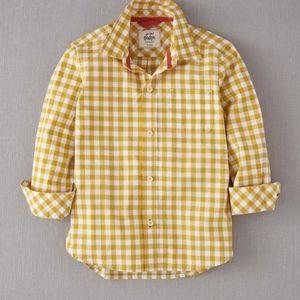 Mini Boden Gingham Shirt